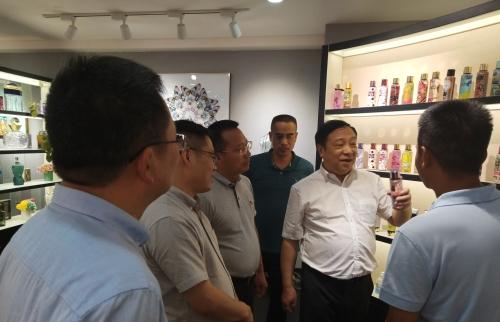 省局副局长苏志良到义乌走访调研图片