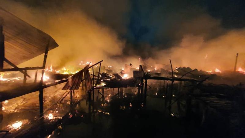 △图片来源:仙本那消防局网站
