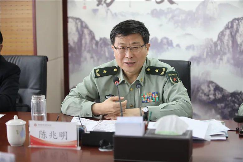 """河南省军区司令员陈兆明,已任""""戎装常委""""图片"""