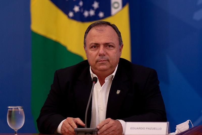 巴西卫生部临时部长爱德华多·帕祖洛 图片来源:《圣保罗页报》