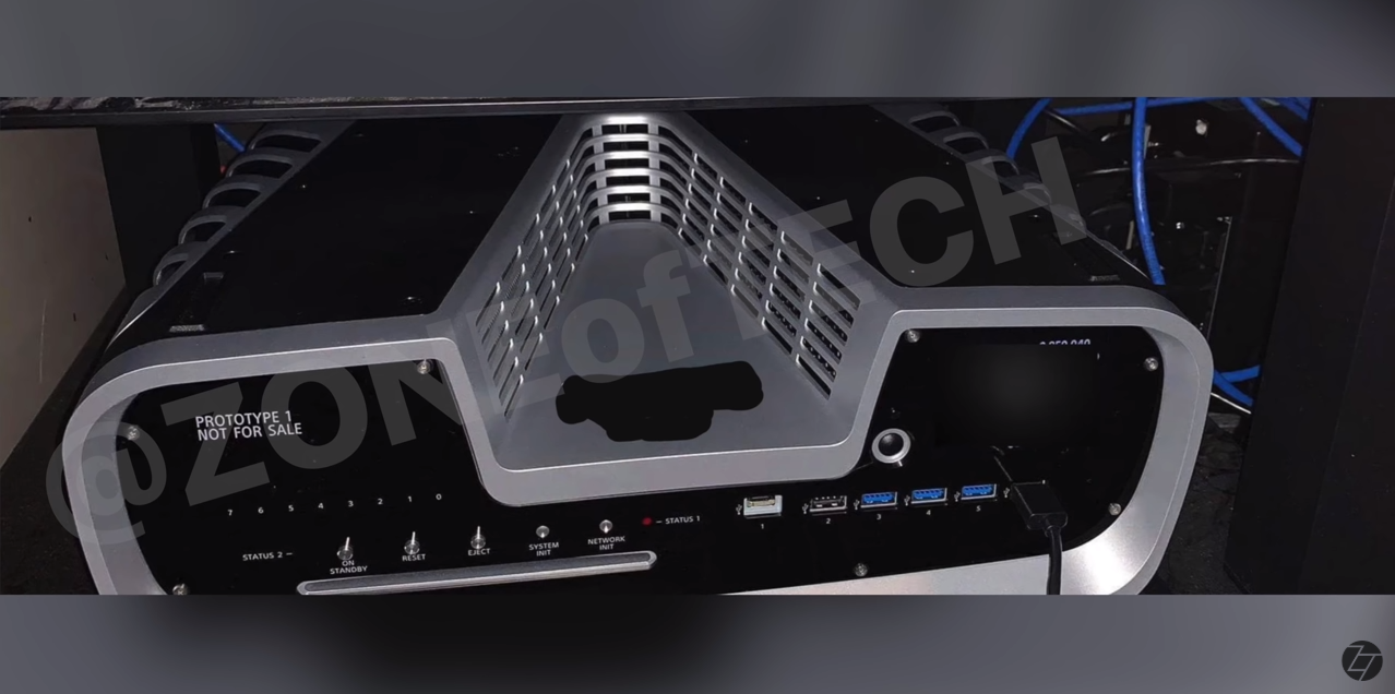 PS5开发机设计图揭开其怪异深V造型设计的秘密