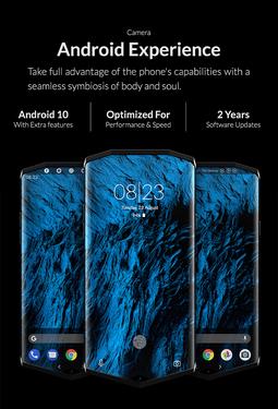 国外新锐七边形手机 搭载骁龙865 屏下指纹65W闪充