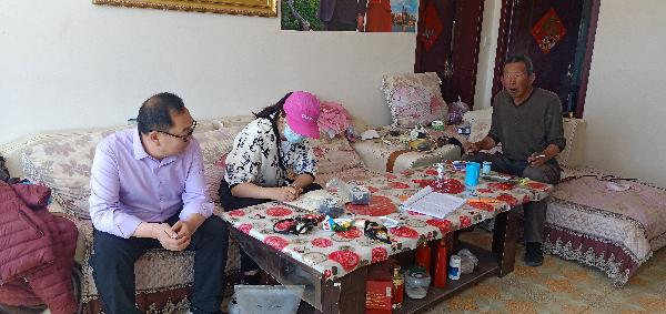 """杭锦旗:逐户跟踪""""销号""""清零 护航脱贫攻坚图片"""