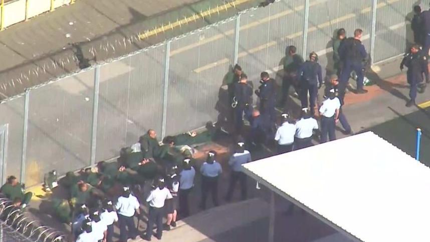 △事发监狱(图片来源:澳大利亚广播公司)