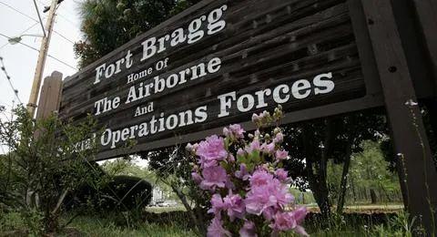 ▲布拉格堡军事基地(图源:美联社)