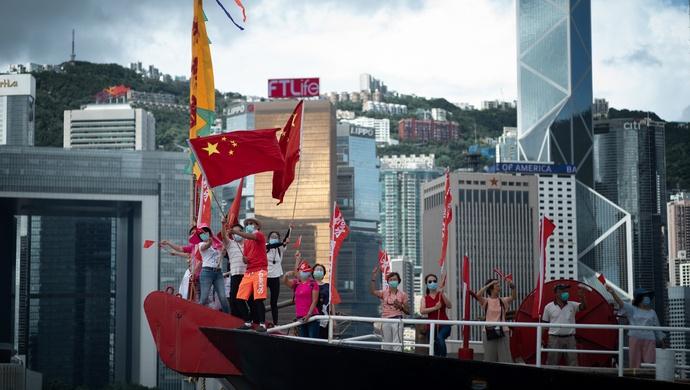 赢咖3官网观赢咖3官网直击香港国安新法实施首日图片