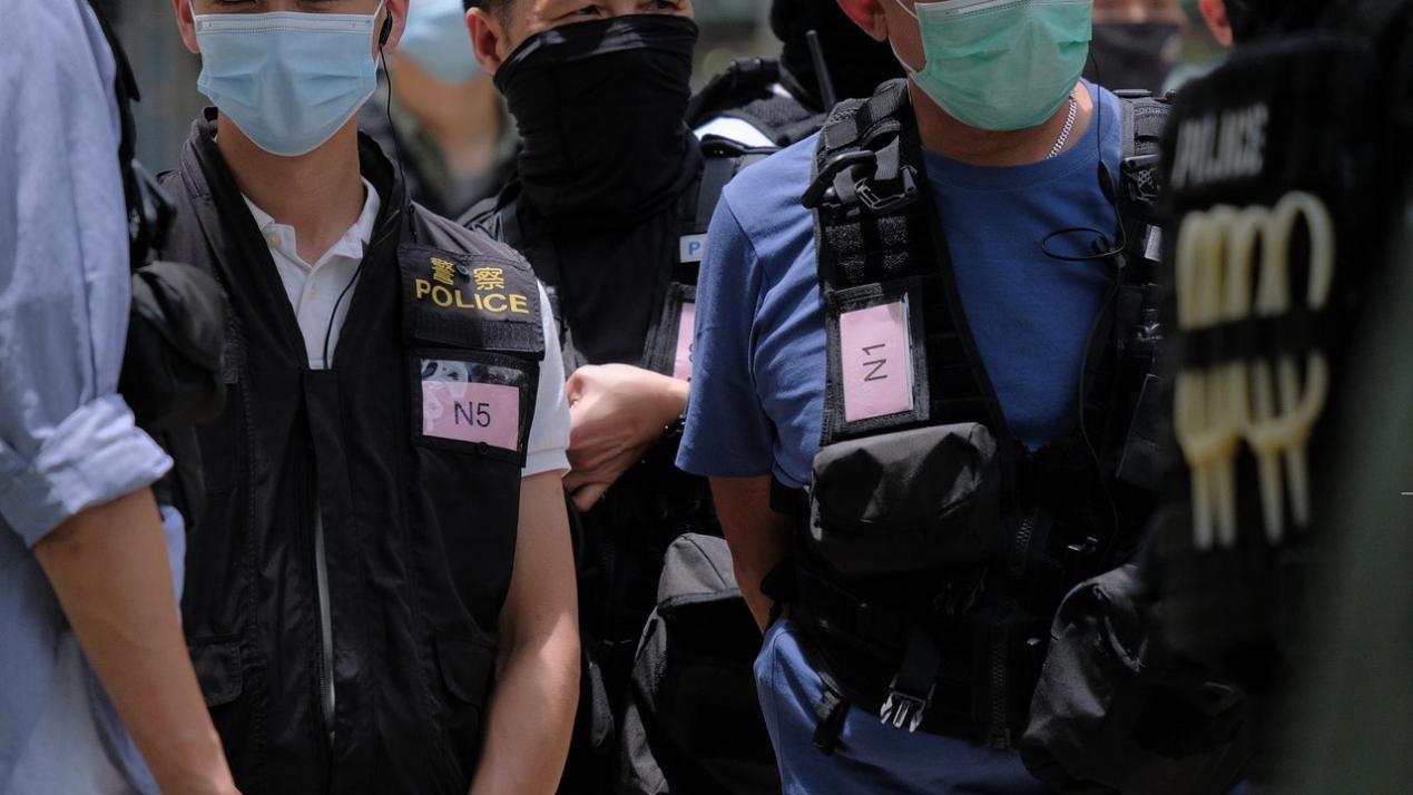 [高德登录]港高德登录媒发现部分警员图片
