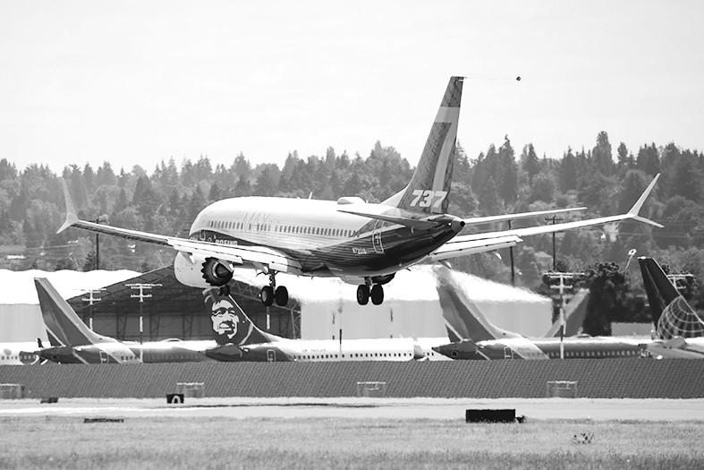 波音737Max首次试飞