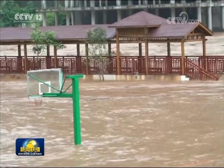 南方强降雨持续 需防范山洪地质灾害图片