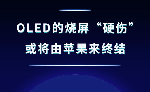 """OLED的烧屏""""硬伤"""" 或将由苹果来终结"""