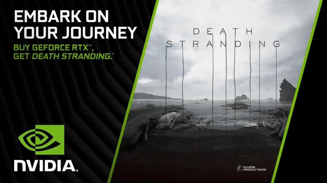 英伟达搞福利活动 买GeForce RTX显卡送《死亡搁浅》