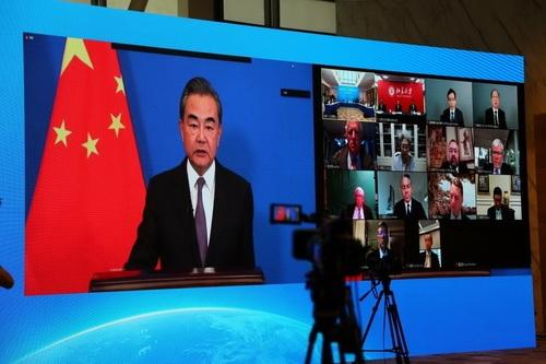 赢咖3代理王赢咖3代理毅呼吁中美探索和平图片