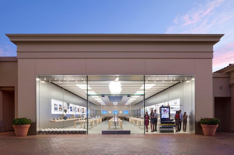 苹果公司在南加州、马里兰州、俄亥俄州和田纳西州再次关闭11家商店