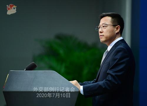 7月10日外交部例行记者会(全文)图片