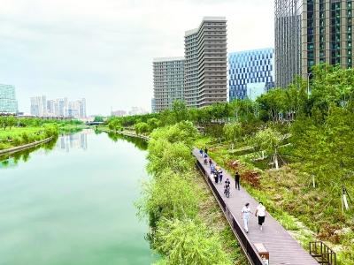 到2035年 10个万亩以上森林组团遍布北京城市副中心