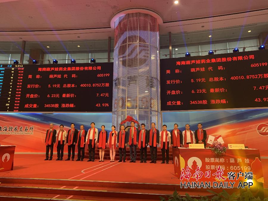 4010万股,2.08亿元!海南新增上市公司今在上交所首次公开募股