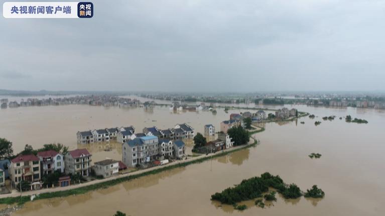 洪涝灾害致江西521.3万人受灾 直接经济损失64.9亿元图片
