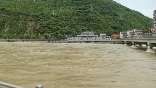 「杏悅」雅礱江大渡河干支杏悅流均出現超警戒水位圖片