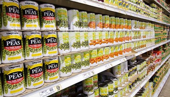 库存不足供应链僵化,美国超市米面罐头再次告急