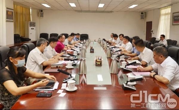 科技强企 柳工集团与广西科技厅座谈交流