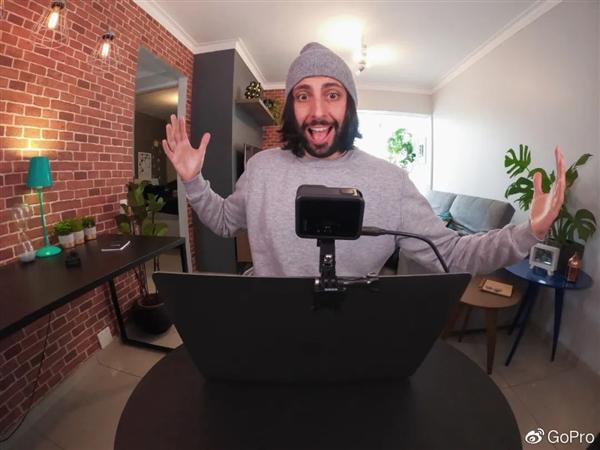 GoPro Hero8解锁新技能:高清网络直播摄像头