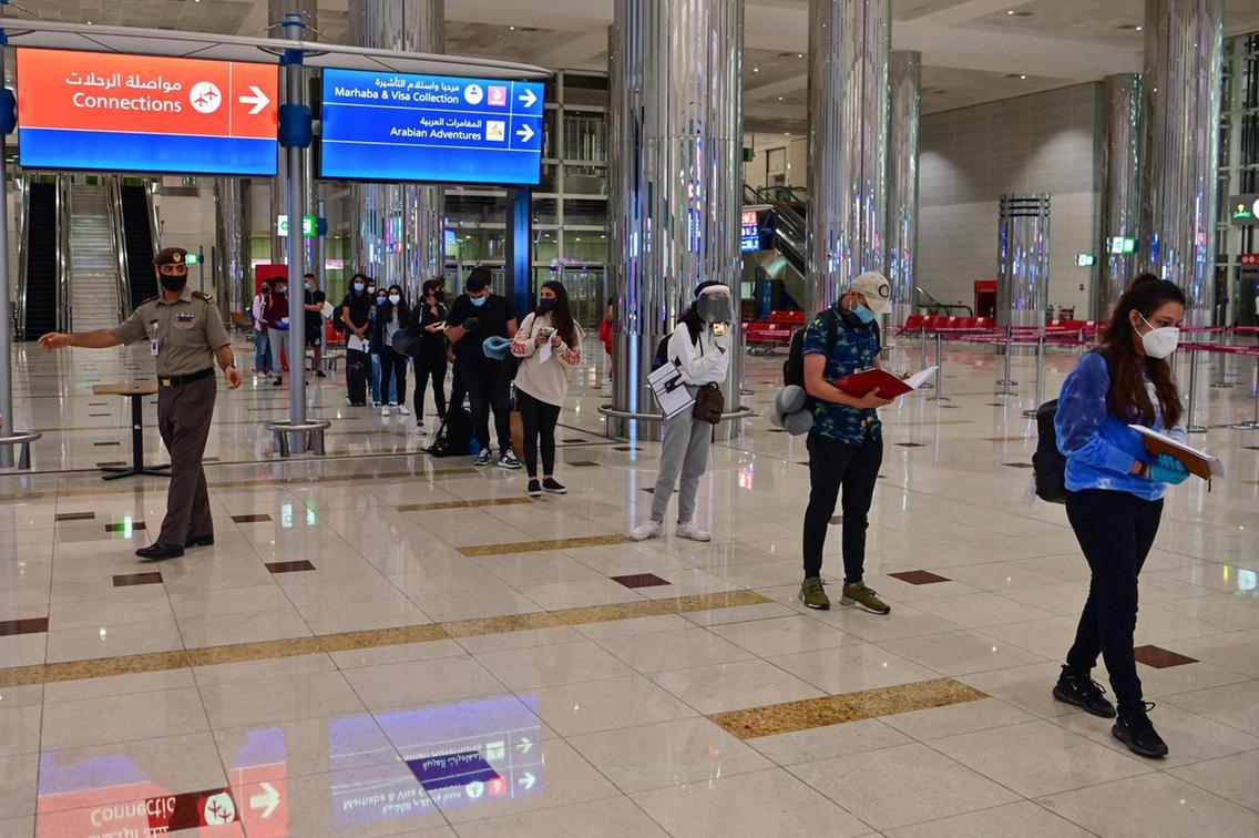 阿联酋迪拜以外居民出国旅行无需申请许可和提供核酸检测证明