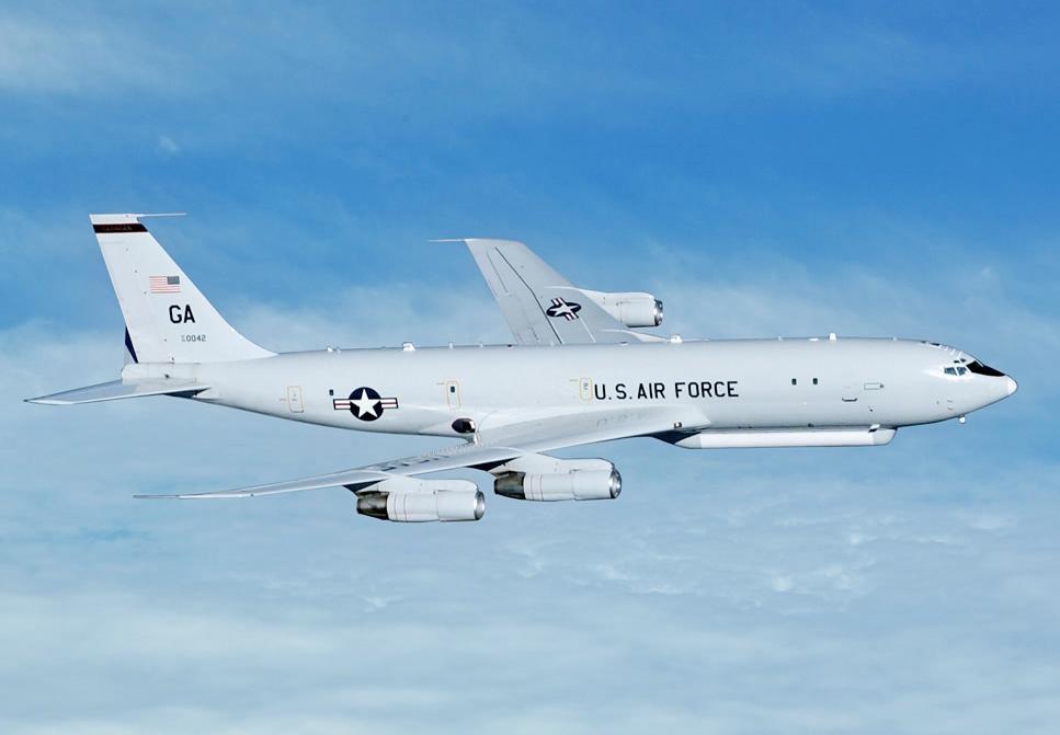 美军机再逼近广东海岸125公里处 这次来的机型不多见图片