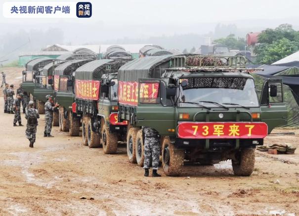 [杏悦]军增派7200余名官兵紧急驰杏悦援江西部图片