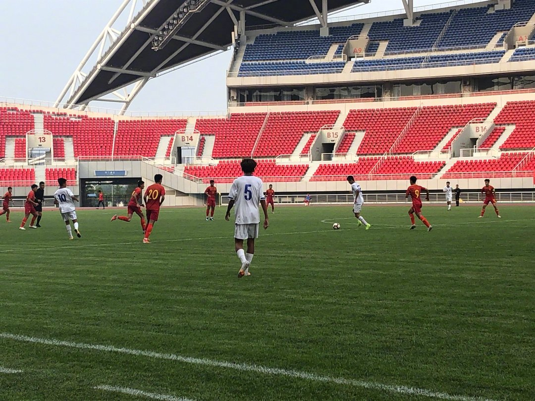 热身赛上演进球大战,U16国少队4-2青岛中能U17