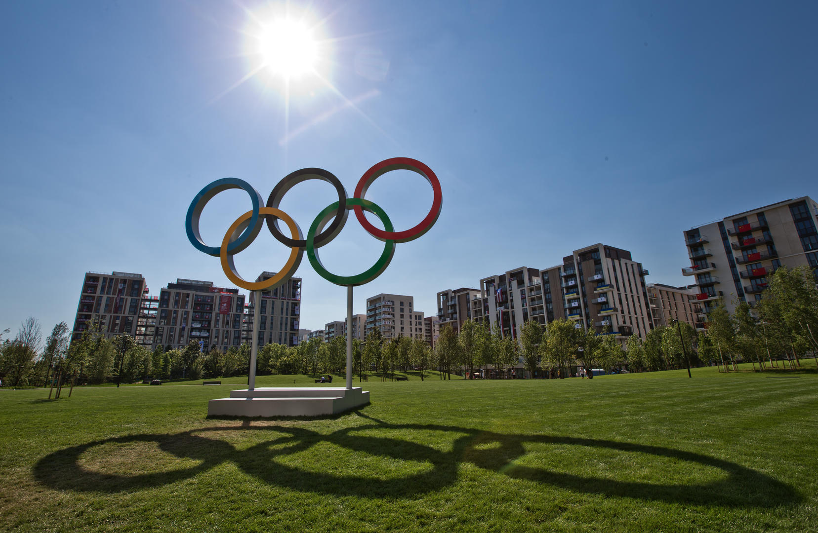 ▲伦敦奥运村。资料图据ICPhoto