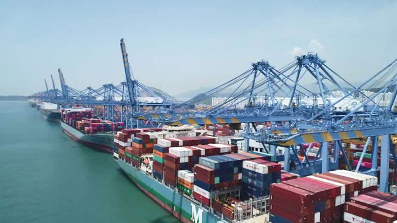 资料图:韩国釜山港
