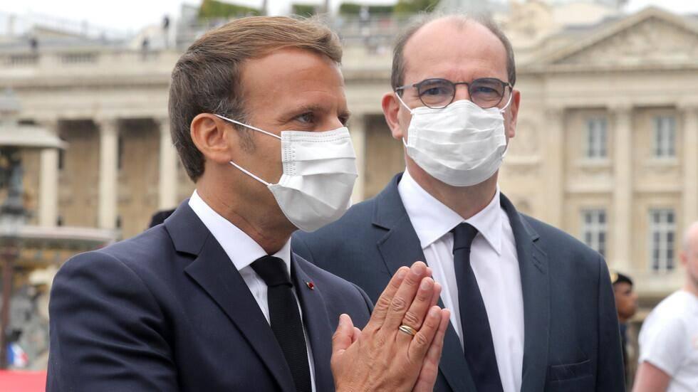 马克龙:公共场所必须佩戴口罩,8月1日起实施