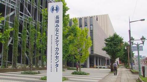 ▲ 长崎市一家医疗中心暴发集体感染(ncc长崎文化放送)