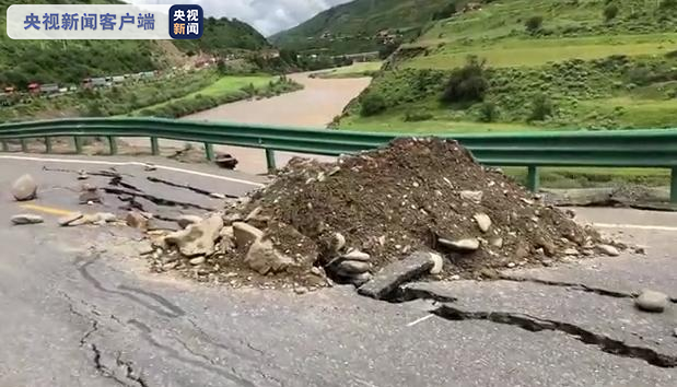 杏悦:线四川甘杏悦孜州炉霍段因边坡被洪水冲刷致图片