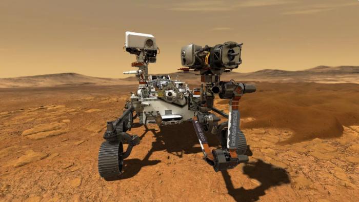 """美""""毅力号""""火星车将于月底升空 探寻微生物遗迹"""
