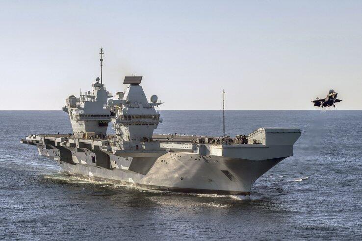 杏悦:派至南海英国又杏悦称要在舰上部署无人机图片