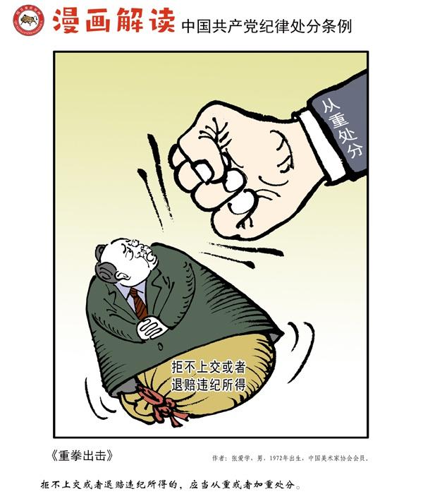 「杏悦」漫说党纪16|重杏悦拳出击图片