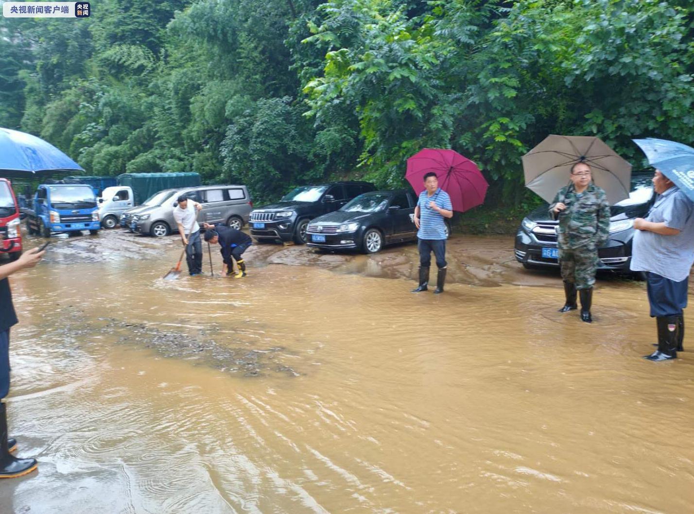 庆武隆遭受大杏悦暴雨袭击部分场镇被淹,杏悦图片