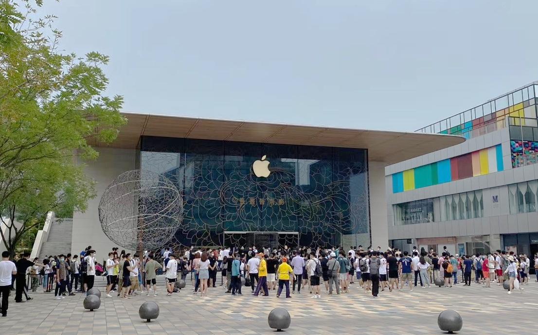 """DoNews带你参观Apple三里屯新店有多""""京""""彩"""