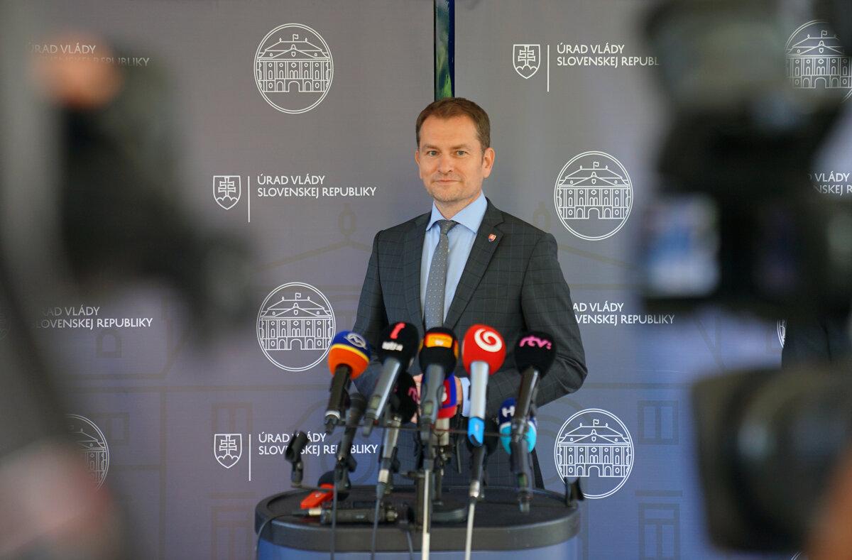 △图为斯洛伐克总理马托维奇资料照片 (图片来源:斯洛伐克信息通讯社SITA)