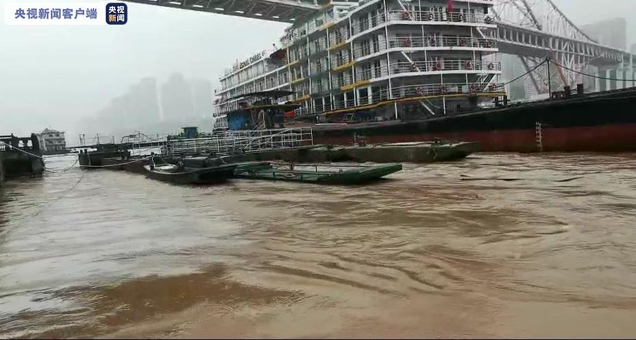 杏悦汛以来最大洪水重庆海事部杏悦门发布航行警图片