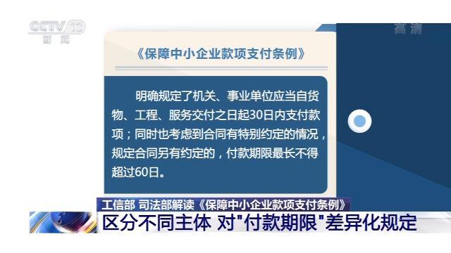 【杏悦】工信部司法部解读保杏悦障中小企图片