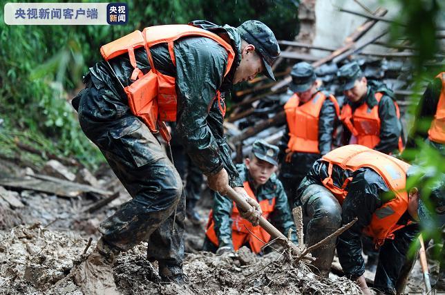 「杏悦」重庆江津发生山体滑坡致一人杏悦死亡图片