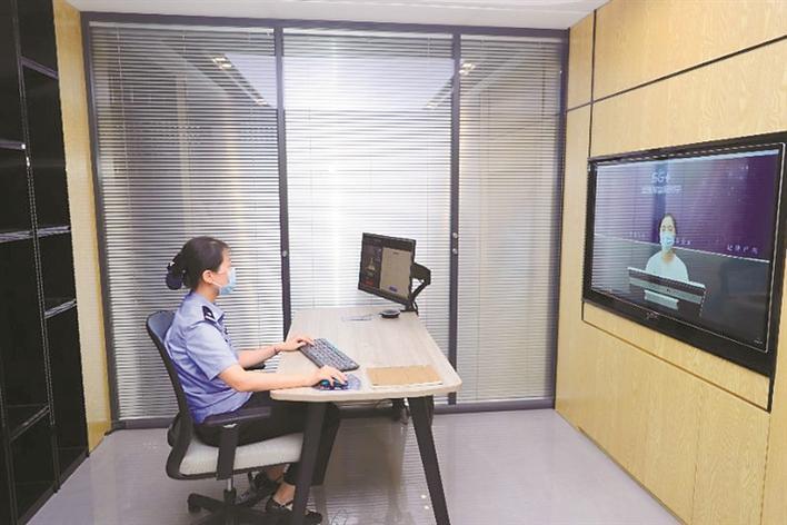 「杏悦」华强北打造5G智慧警务街杏悦区图片