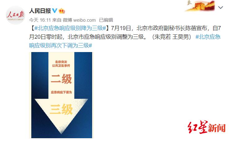 北京防控等级下调!专家:下调等级后,建议市民1—2周不扎堆旅行看电影图片