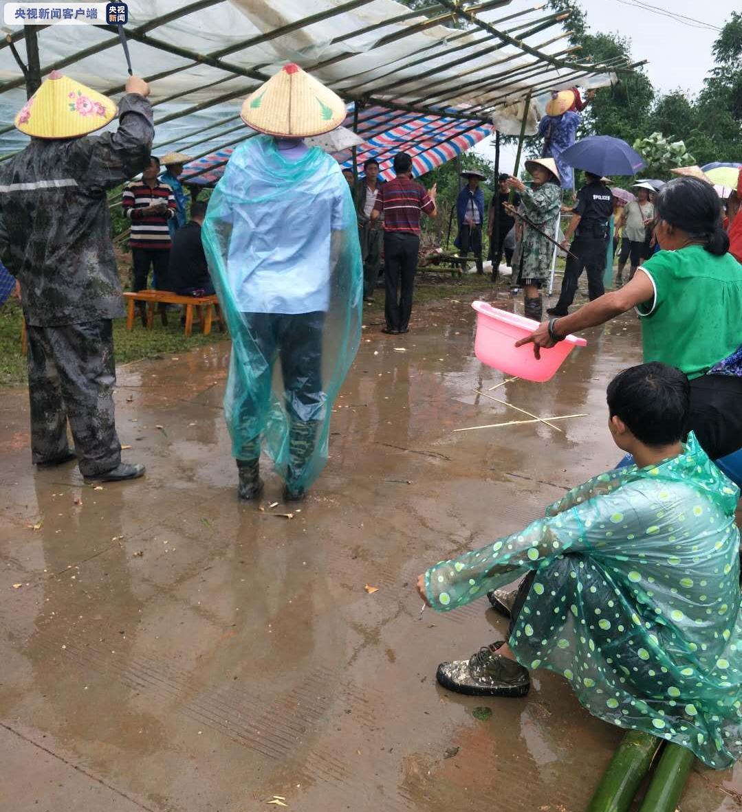 """云南盈江县""""7-18""""洪涝滑坡灾害 已找到1名失联人员遗体图片"""
