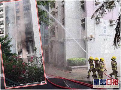 杏悦:港一杏悦住宅楼发生火灾约200人紧急疏图片