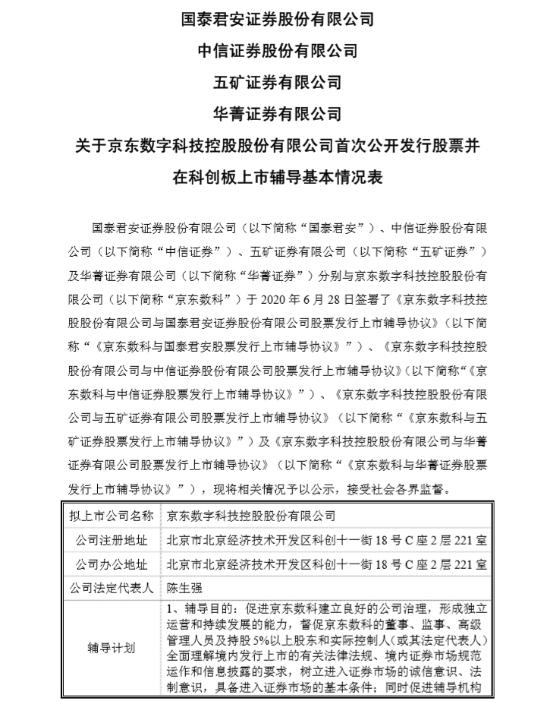 """科创板""""一哥""""要来了?京东数科启动IPO,刘强东拥有超50%投票权"""