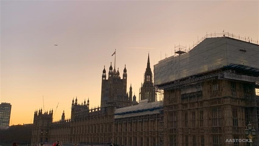 标普下调英国今年经济预测至收缩