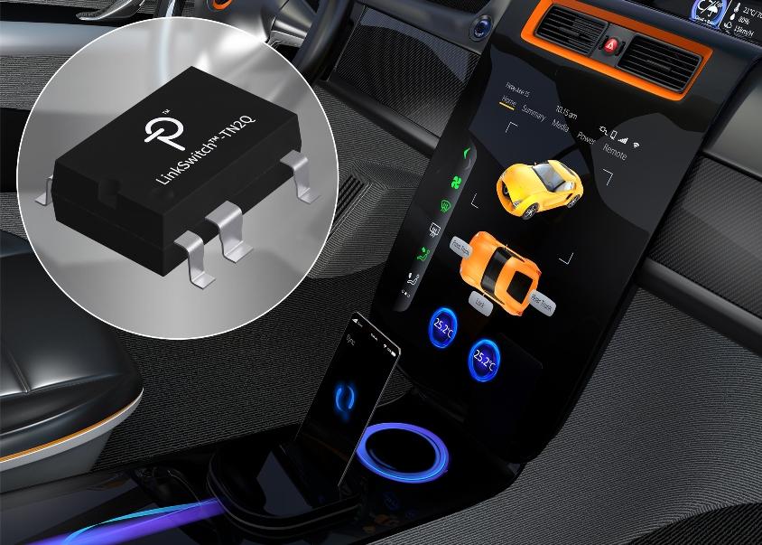 高可靠性、节省空间的降压/反激式开关IC适合400 VDC电动汽车应用